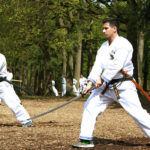 Katana iaito iaido trainingskamp - Karate Weesp