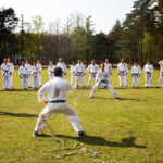 Touwtrekken trainingskamp - Karate Weesp