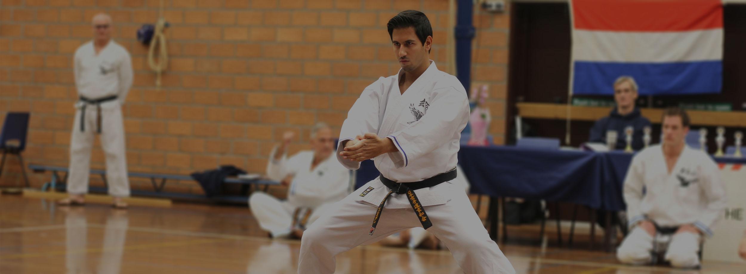 Sensei Julien Budoshin Dojo Genwakai - Karate Weesp