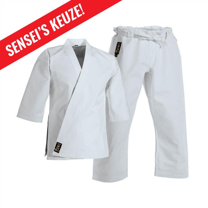 karatepak tokaido tsunami gold keuze karate Weesp