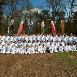 Groepsfoto trainingskamp - Karate Weesp