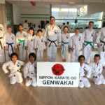 Junioren groep Budoshin Karate Weesp